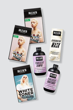 Ice White Complete Bundle with Plex Bleach Duo