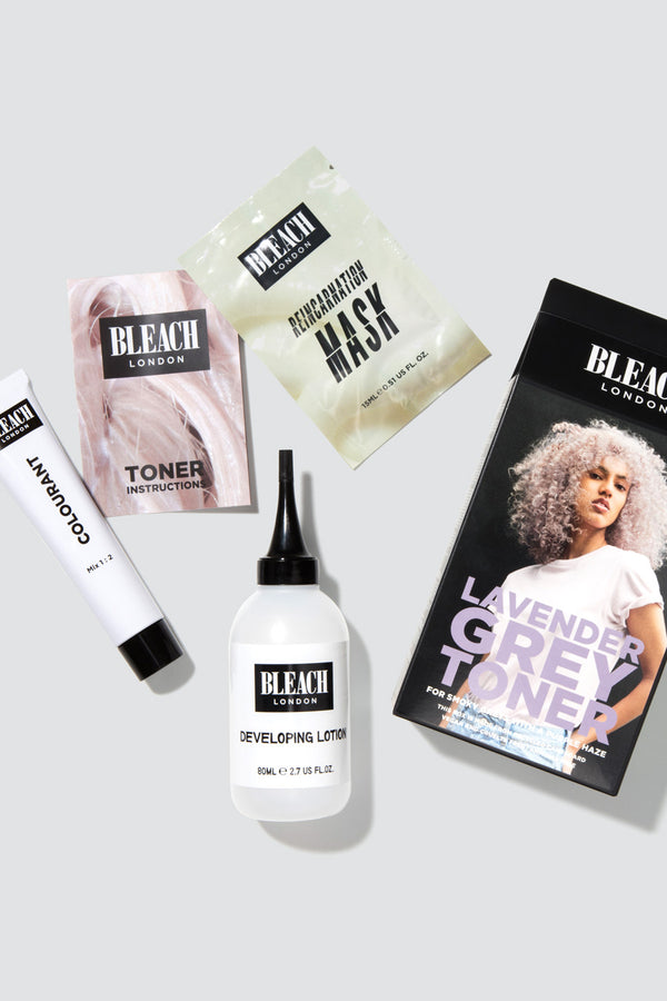 Lavender Grey Toner Kit | Bleach London