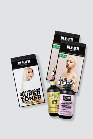 Nude Blonde Maintain Bundle with Plex Bleach Duo