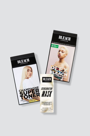 Nude Blonde Care Bundle with Plex Bleach