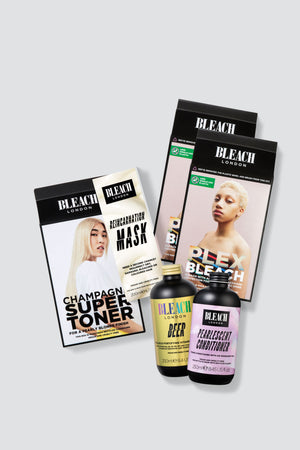 Nude Blonde Complete Bundle with Plex Bleach Duo