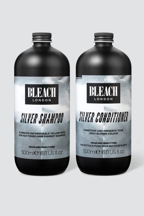 Silver Shampoo & Conditioner Toning XL Duo