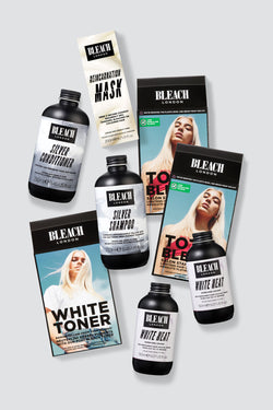 Silver Blonde Total Bleach Duo | Complete Bundle