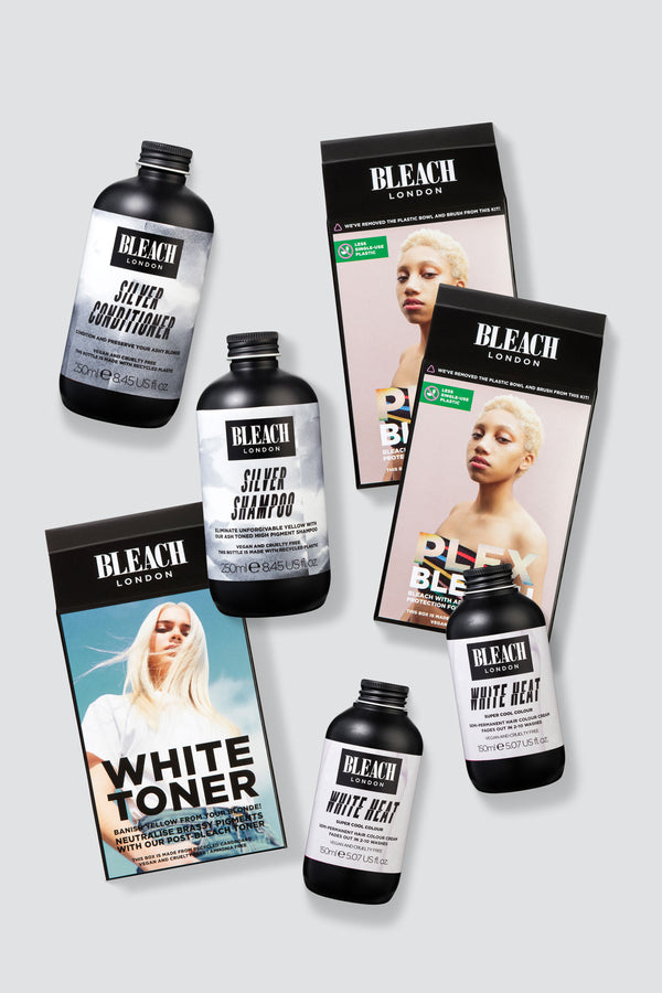 Silver Blonde Plex Bleach Duo | Maintain Bundle