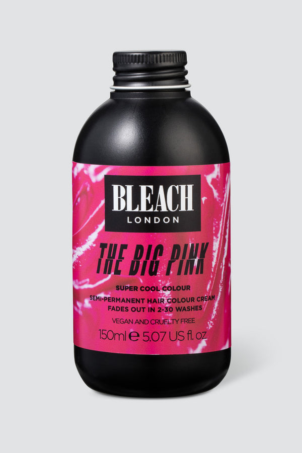 The Big Pink Super Cool Colour | Bleach London