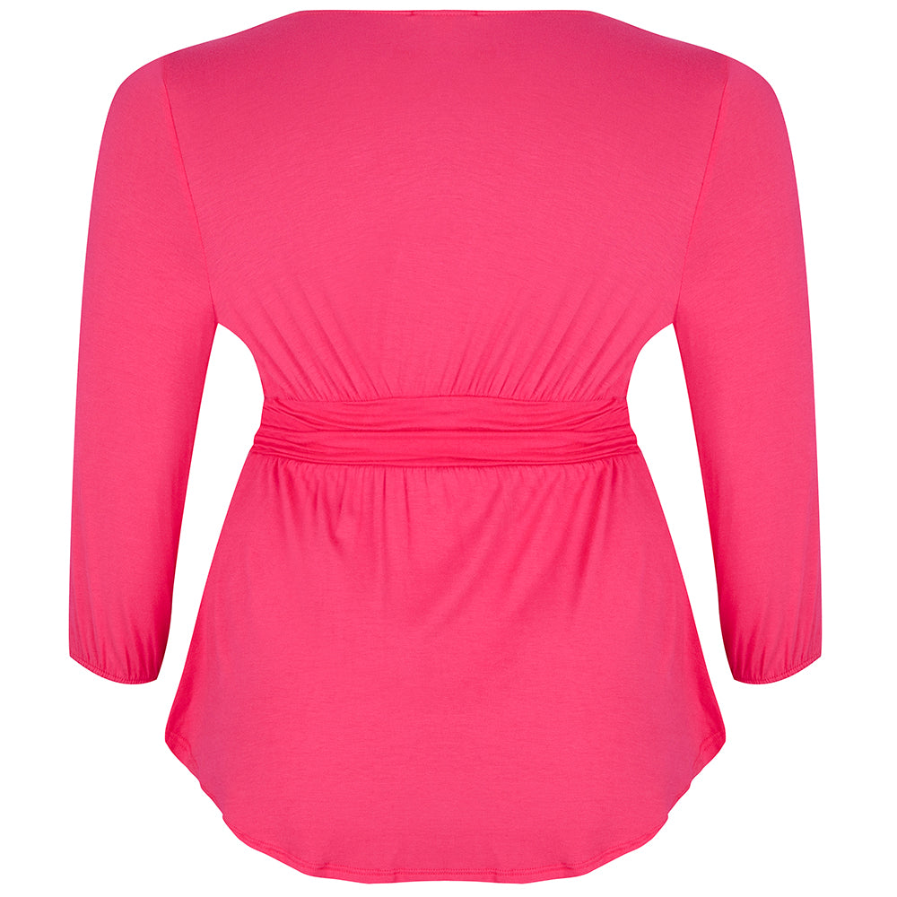 PLUS-SIZE-TOP-PINK