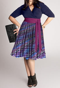 plus-size-chiffon-dress