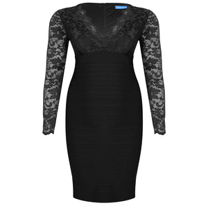 plus-size-bodycon-dress-black