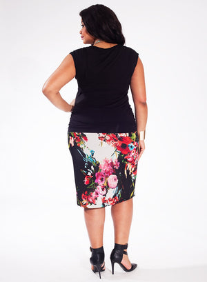 plus-size-top-black