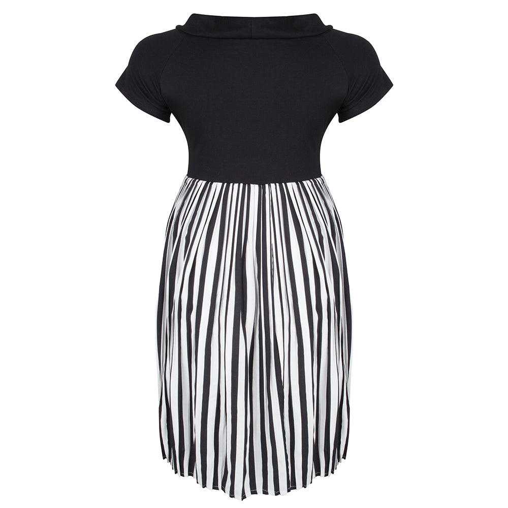 clarisse-black-and-white-plus-size-dress