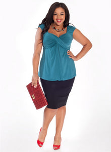marilyn-plus-size-top-teal-