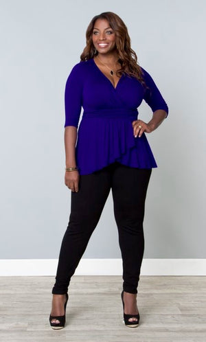 plus-size-top-kiyonna-blue