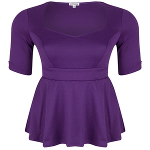 posh-ponte-plus-size-peplum-top