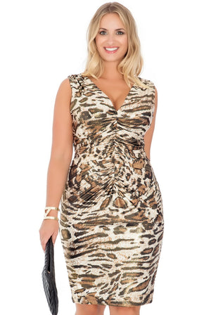 tess-plus-size-bodycon-dress-leapard