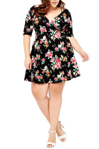plus-size-floral-dress