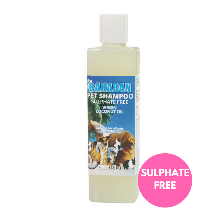 Banaban Pet Sulphate Free Coconut Rich Shampoo 300ml
