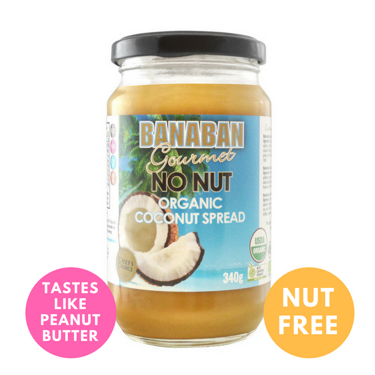 BANABAN Gourmet Certified Organic No Nut Coconut Spread 340g