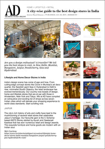 A city-wise guide to the best design stores in India