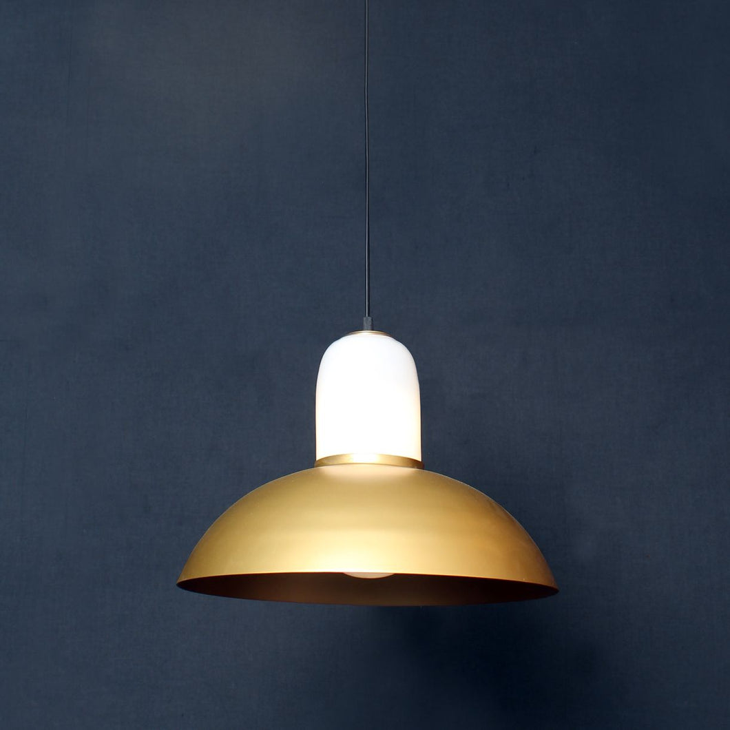 Ettore pendant lamp dome lamp ceiling opel glass