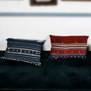 Cushion Cover Bhuj 23x14 Cotton-Tussar SilkHome textiles Cushions / Bolsters Cushion cover, hand crafted, handmade , covers