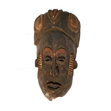 Handcrafted Art Craft Mask Cover Tribal Design Hand Carved Wood