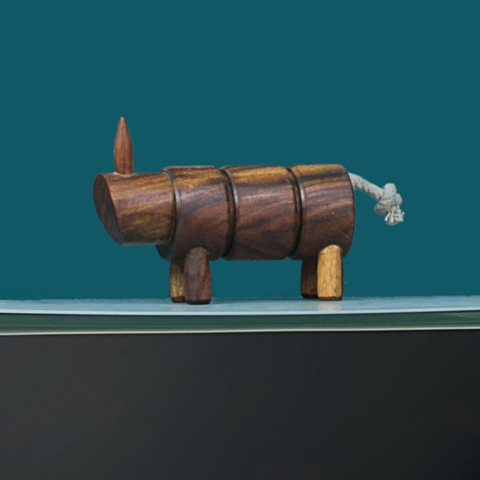 Animal Farm-Hippo , Accessory , Table top , Wooden Work, toy