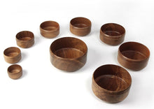 Bhikshu Stacking Bowls 7 In Set Of 9 , Home Objects , Serving, lathe work, wooden bowls, crafted, handmade, best bowls