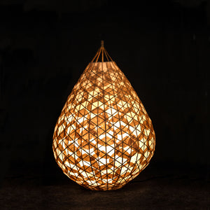 Bamboo tazia Lamp table lamp floor lamp Lamp shade Banana paper, lighting, hanging light