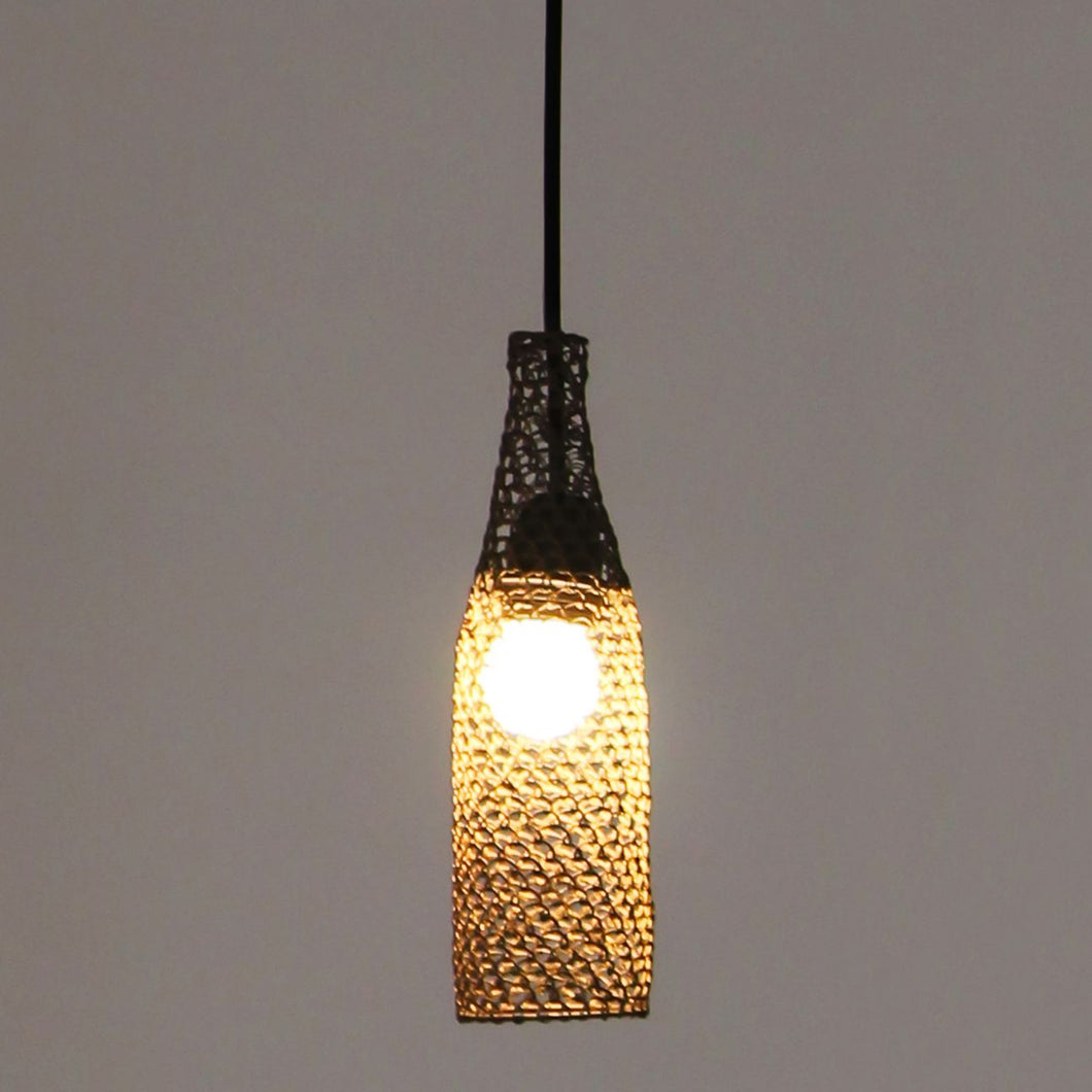 Bayaa hanging lamp pendant lamp ceiling lamp weaving lamp handcrafted handweaved brass metal mesh lamp, hanging lamp, lighting, decor