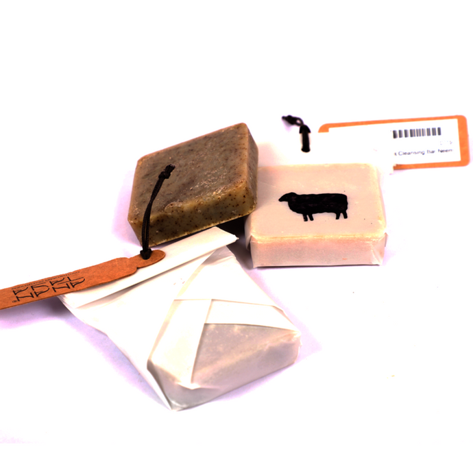 Black Sheep Goat Milk Cleansing Bar Neem