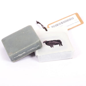 Black Sheep Goat Milk Cleansing Bar Charcoal