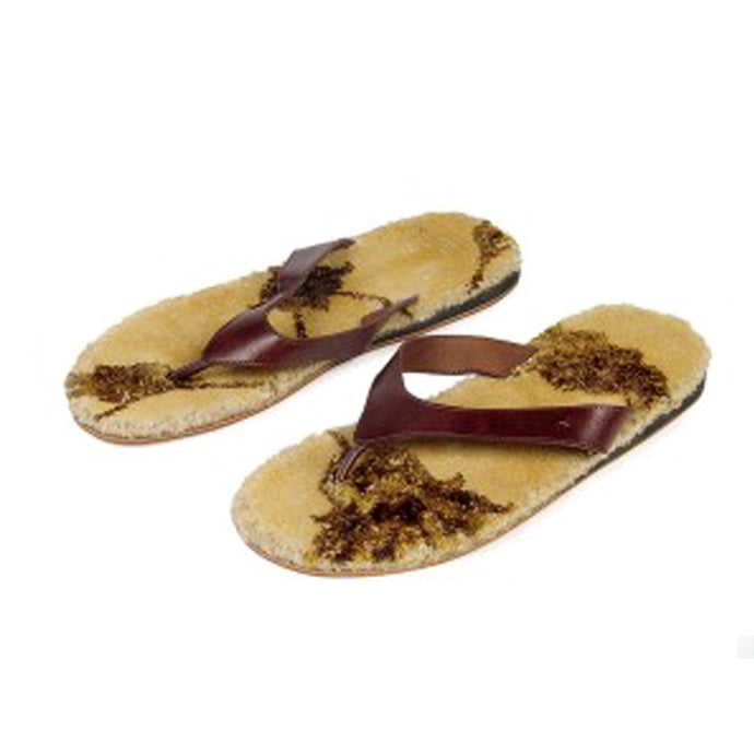 Carpet Slipper Wearable Footwear, slippers, comfortable slippers, ancient, handmade, crafted