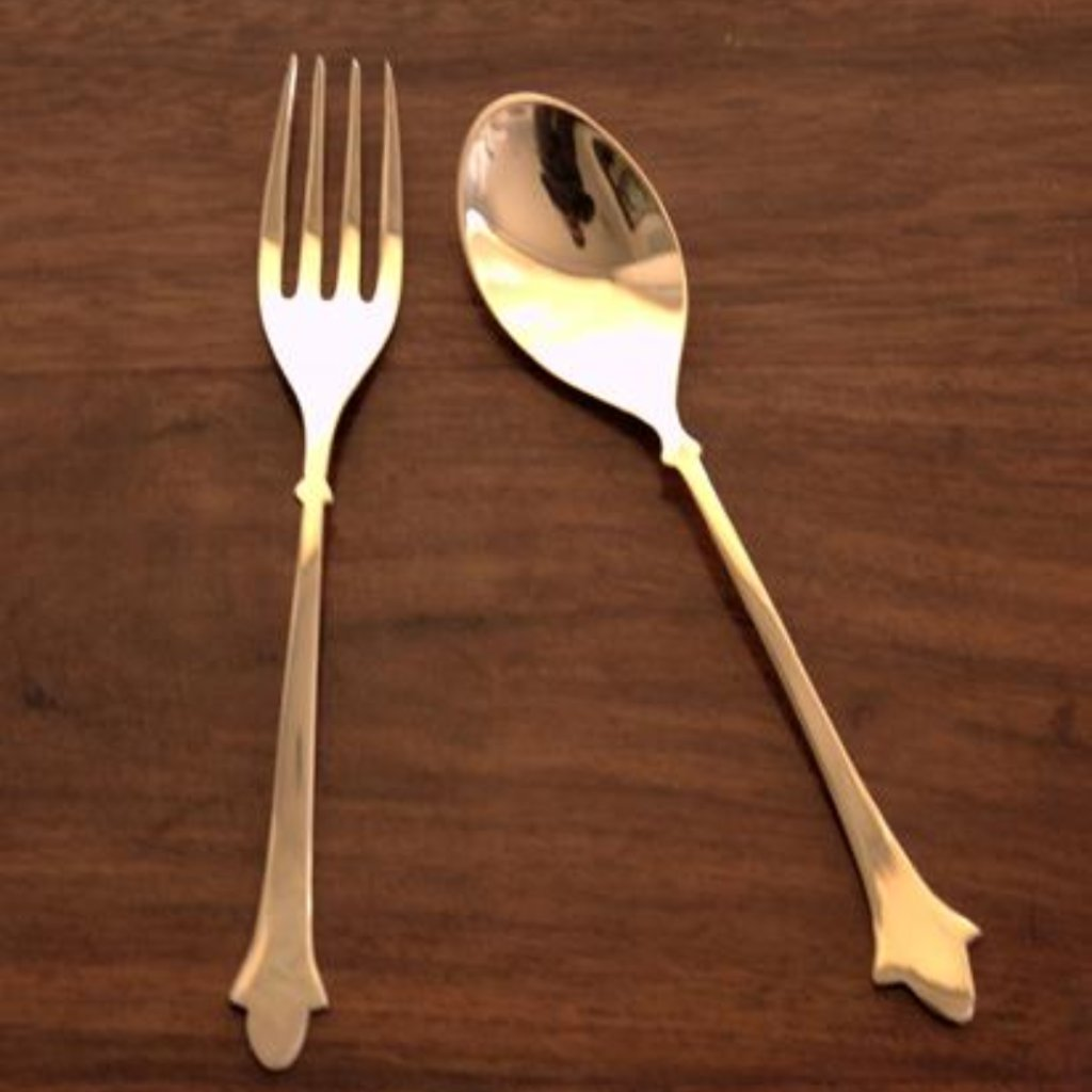 Cresent Fork & Spoon Set