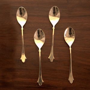 Cresent Spoon Set of 4