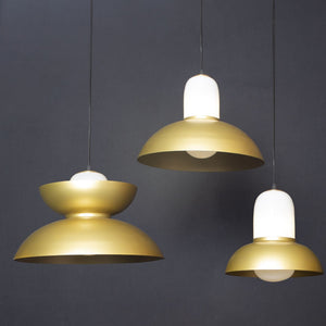 Ettore Pendant Lamp- Large Dome