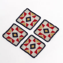 Ceremonial Coaster - A70CV19 Set Of 4 Home Objects Dining Glass Beading Craft, best coasters