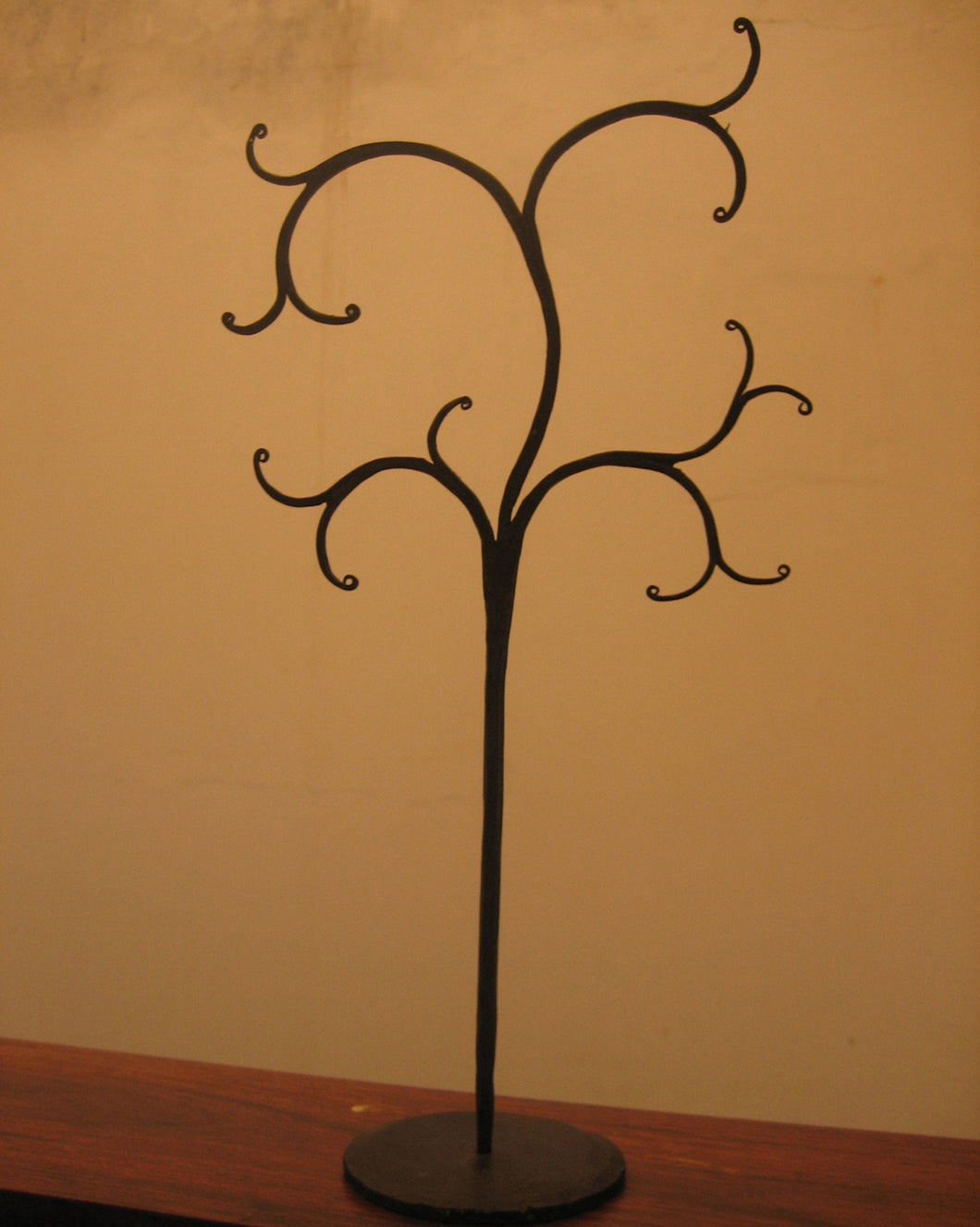organizer, jewelry organizer, iron trees, crafted