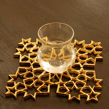 Jaali Coaster Set Of 2 Br