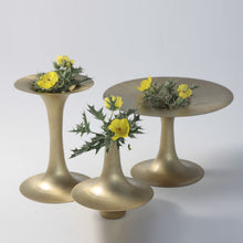 Jia Vase Br L vase planter table top home object outdoors, candle stand, gifting, wedding, brass