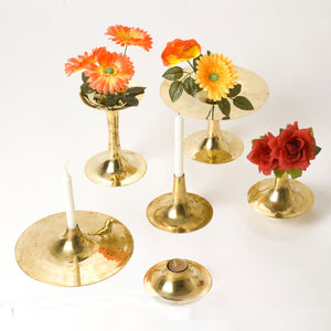 Jia Candlestand Lighting fragrance home object decor Brass