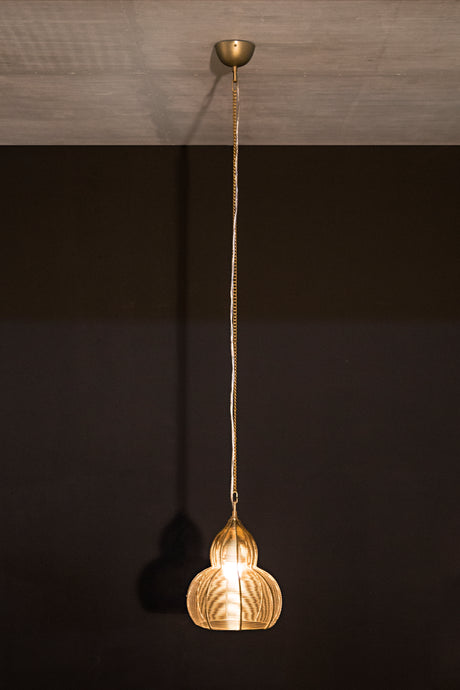 Kainoosh hanging pendant lamp wire lamp lighting, ceiling lamp, decoration, handmade, crafted, vintage