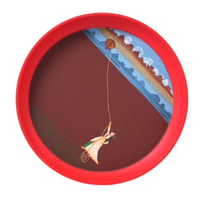 Kalam Table- Lady Flying Kite