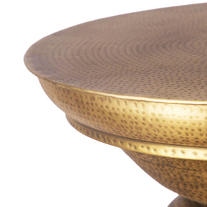 Kalash Side Table Hand Hammered Thathera Side table Brass Furniture, home decor, vintage, ancient