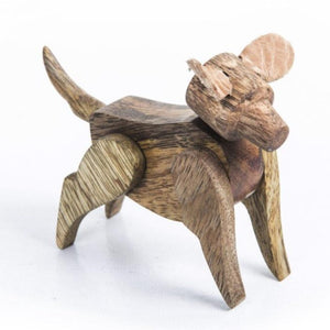Ke Ki Ka Toy Kutta- Wooden dog Toy
