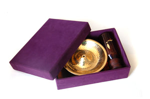 Lift Top Lau Diya Br Oil Lamp S with 100 L.O