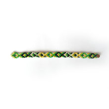 LuvAndTheBand Rakhi Handmade Colorful Braided Rakhi with Golden Button. Available in 6, 8, 10, 12 threads rakhi. Pattern Available Bird Mat Fish ZigZag Heart Slant Pride Multicolor.
