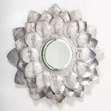 Luxe Me Lotus Mirror 1 ft. Silver
