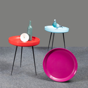 Mars Attack Table Pink Furniture , side table , living , bedroom , media, MANGO WOOD IRON