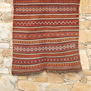 Kilm Rug Afghan Sao 2209X1066 Home textiles Rugs, Carpets, home decor