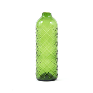 "ReWineD Bottle Vase Diagonal 9.6""x2.8"" , Home Objects , Vase, outdoors, planters"